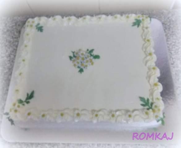 do výslužiek torta, Svadobné torty, ROMKAJ
