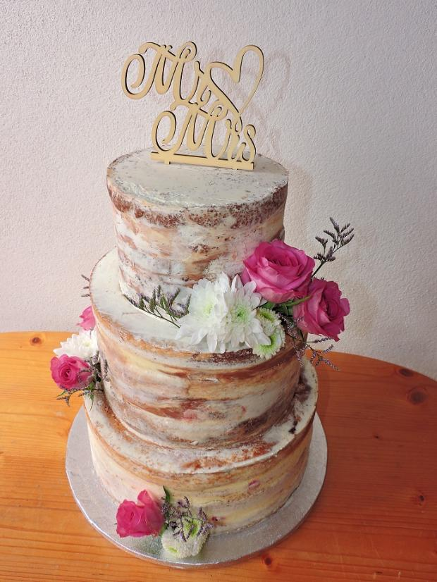 nahá torta, Svadobné torty, Obertová Mária