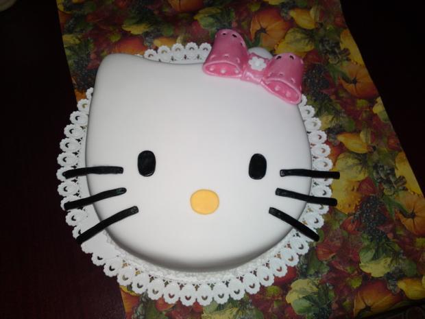 Teen Girls krém koláč