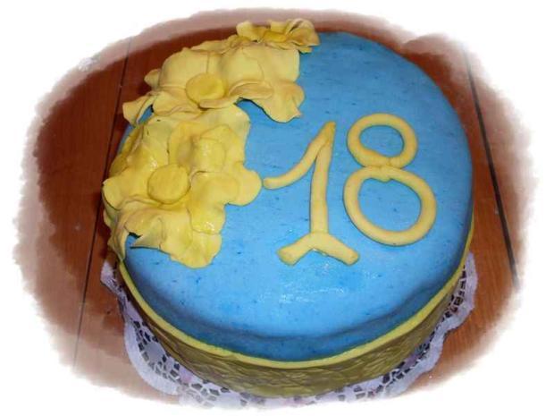 dcérine  narodeniny  torta, Narodeninové torty, silvia11
