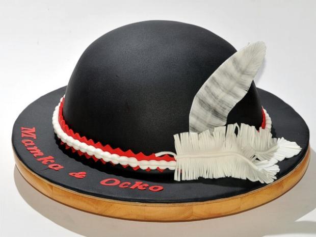Goralsky klobúk torta, netradičné