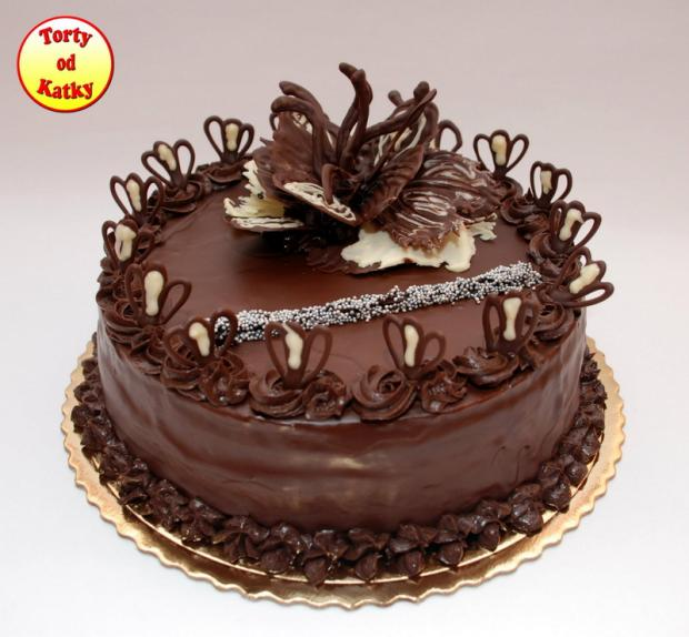 cokoladova s cokoladou torta, Čokoládové torty