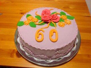 orechovočokoladová torta, narodeninové