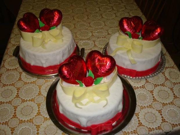Valentinske torty