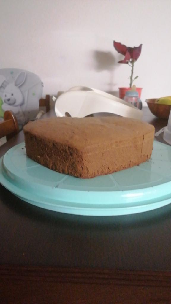 Naha torta v tvare srdca - recept postup 1