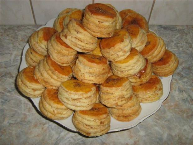 Oškvarkové pagáče - recept