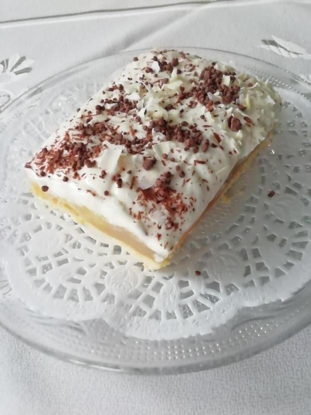 Jablkovo- karamelový koláč.  - recept