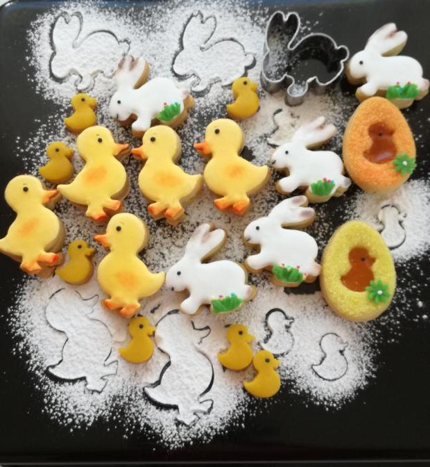 Veľkonočné linecké pomarančové koláčiky - recept