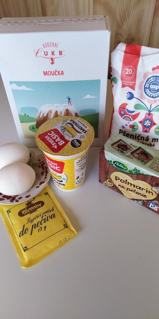 Mriežkový tvarohovo - jablkovo - makový koláč.  - recept postup 1