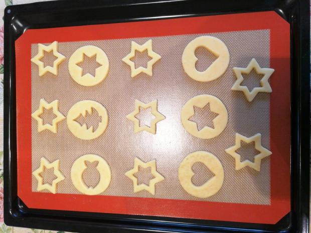 Sušienky s farebnými okienkami 2