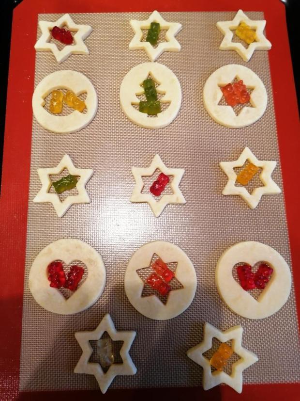 Sušienky s farebnými okienkami 3