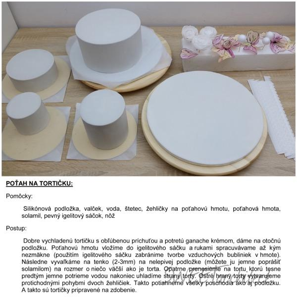 Potiahnutie tortičky - ostré hrany  3