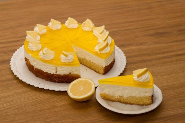 Citronový dortík - recept