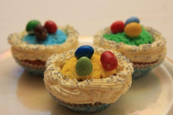Veľkonočné kokosové cupcakes