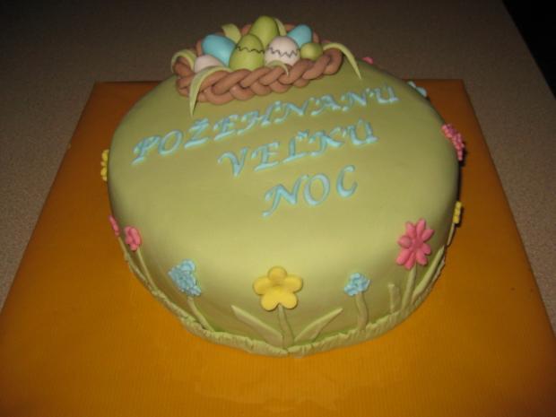 po dlhom čase tortička - veľkonočná  1
