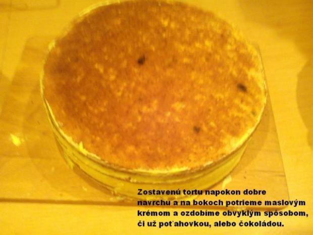 Jablková torta - foto postup