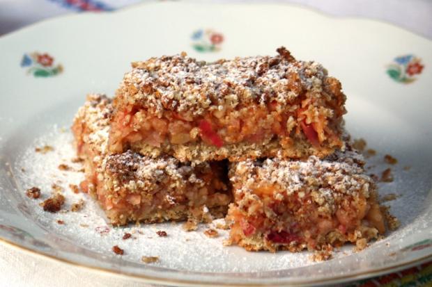 Jablkový koláč s ovsenými vločkami - recept postup 7