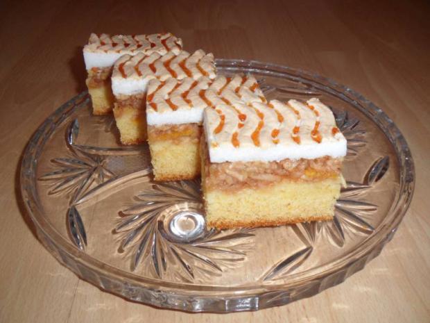 Jablkový koláč pod perinou - recept