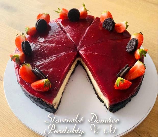 Oreo jahodový - cheesecake