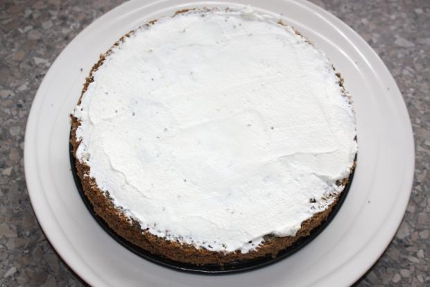Jahodovo - maková torta - recept postup 5