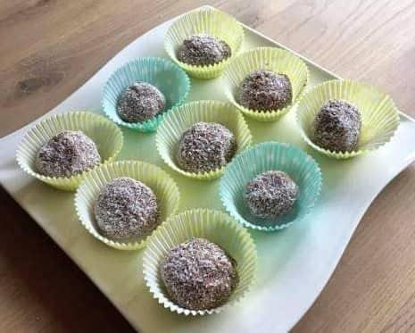 Kokosové gulky - recept