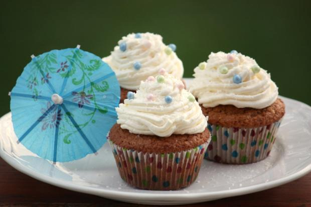 Kokosové cupcakes - recept