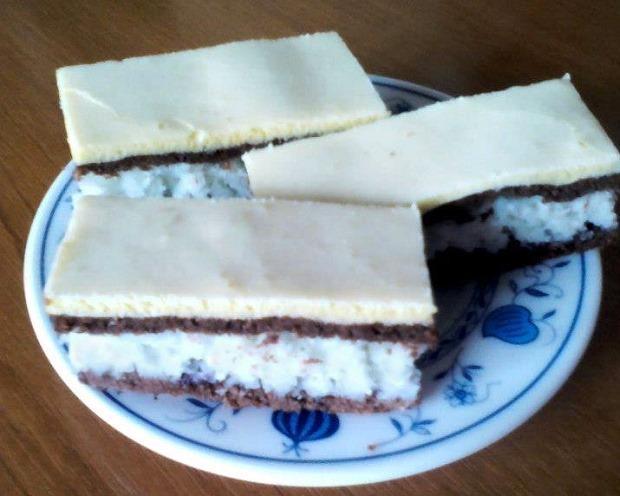 Kokosový koláč - recept