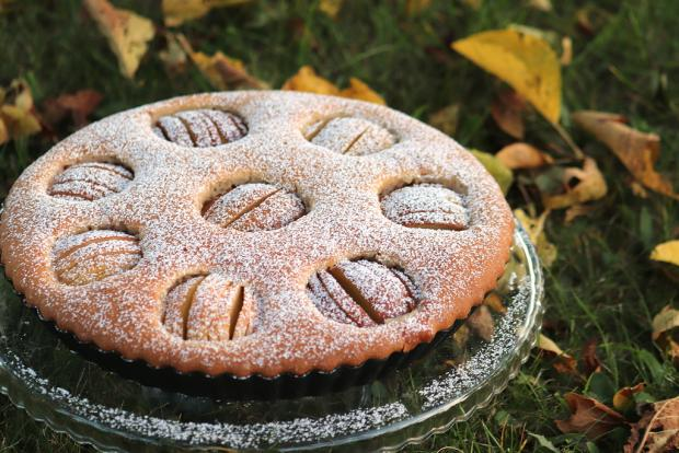 Jemný jablkový koláč - recept postup 6