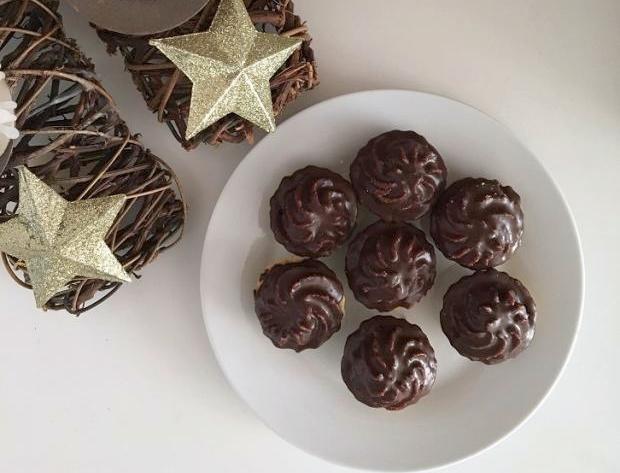 Recept na Kakaovo - orechové rožteky s medom, Autor: Jarka12
