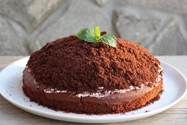 Domáca krtkova torta - recept postup 7