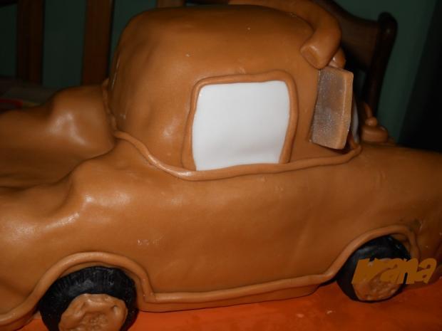 Fotopostup na Matera (Buráka) z rozprávky Cars 12