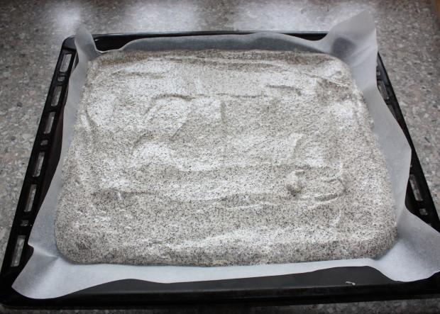 Maková roláda s tvarohovým krémom - recept postup 3