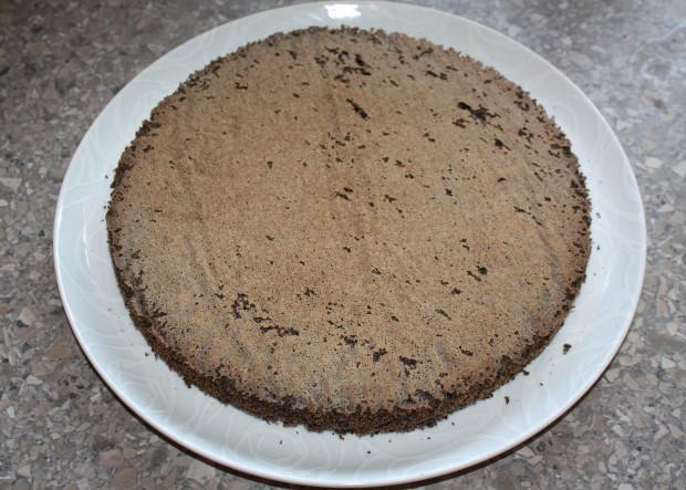 Jahodová torta s makovým korpusom - recept postup 4