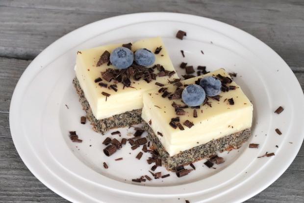 Jednoduchý makový koláčik