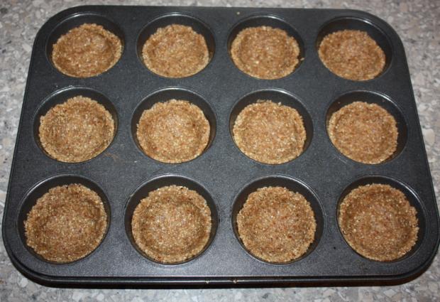 Mandľovo - jablkové košíčky - recept postup 6