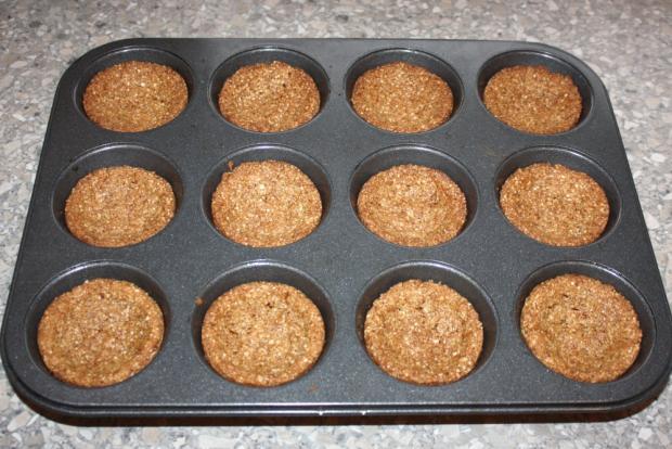 Mandľovo - jablkové košíčky - recept postup 7