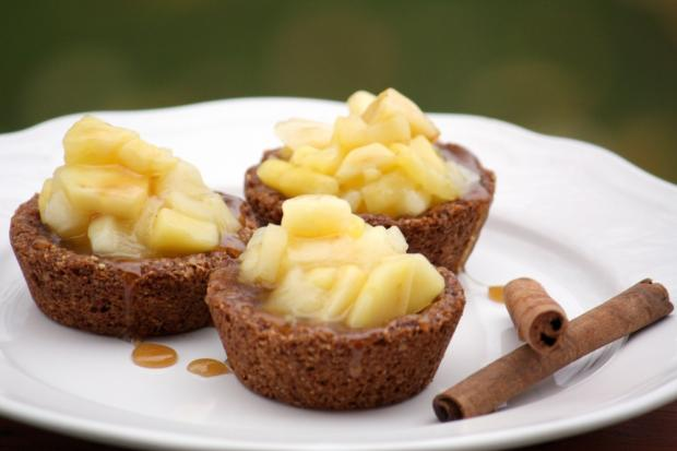 Mandľovo - jablkové košíčky - recept