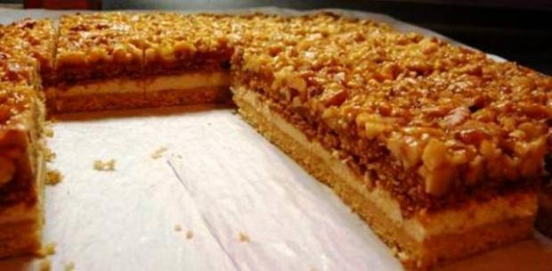 Medovo orechový koláč, Autor: Zuzana74