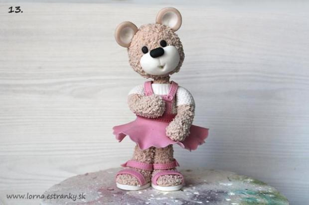 Malá medvedica v šatočkách.. 13