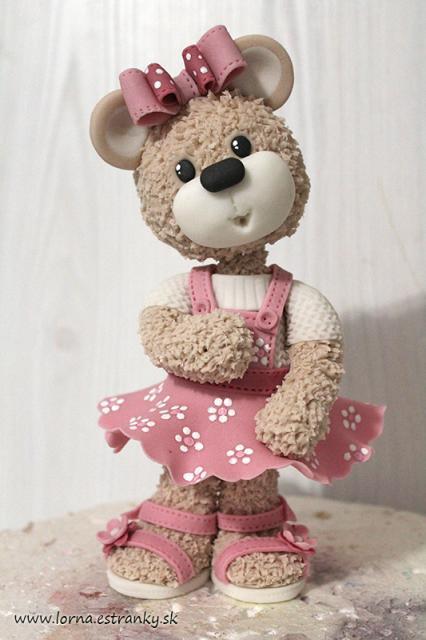 Malá medvedica v šatočkách.. 17