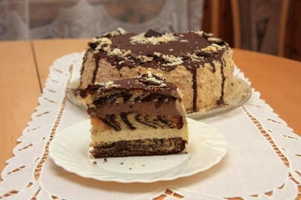 Mramorová torta - recept