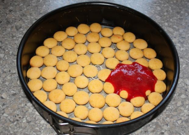 Fantastická nepečená višňová torta - recept postup 5