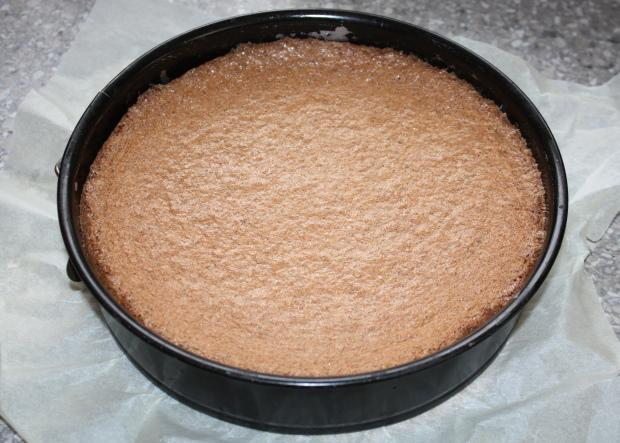 Orechová torta - recept postup 3