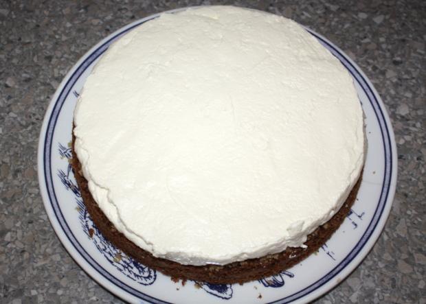 Orechová torta - recept postup 7