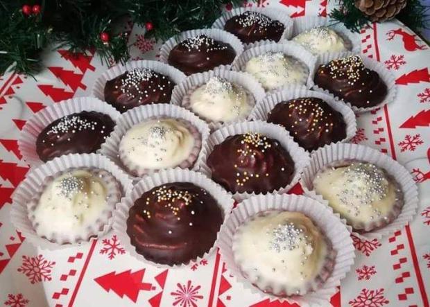 Recepty na Kakaové košíčky s orechovou plnkou , Autor: aramana