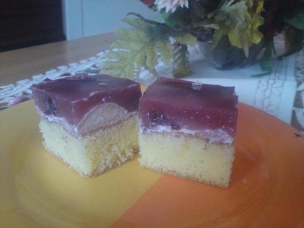Výborný smotanovo ovocný koláč zo želatínou - recept