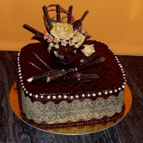 čokoládová, narodeninová - recept