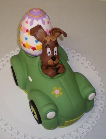 Zajko v aute 1