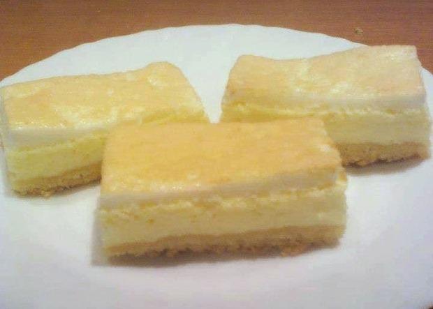 Pekný tvarohový koláč - recept