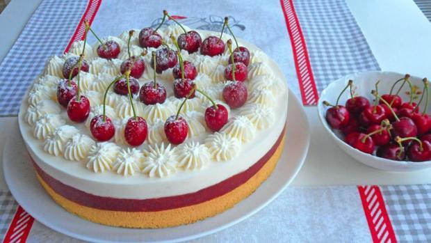 Čerešňová torta  1